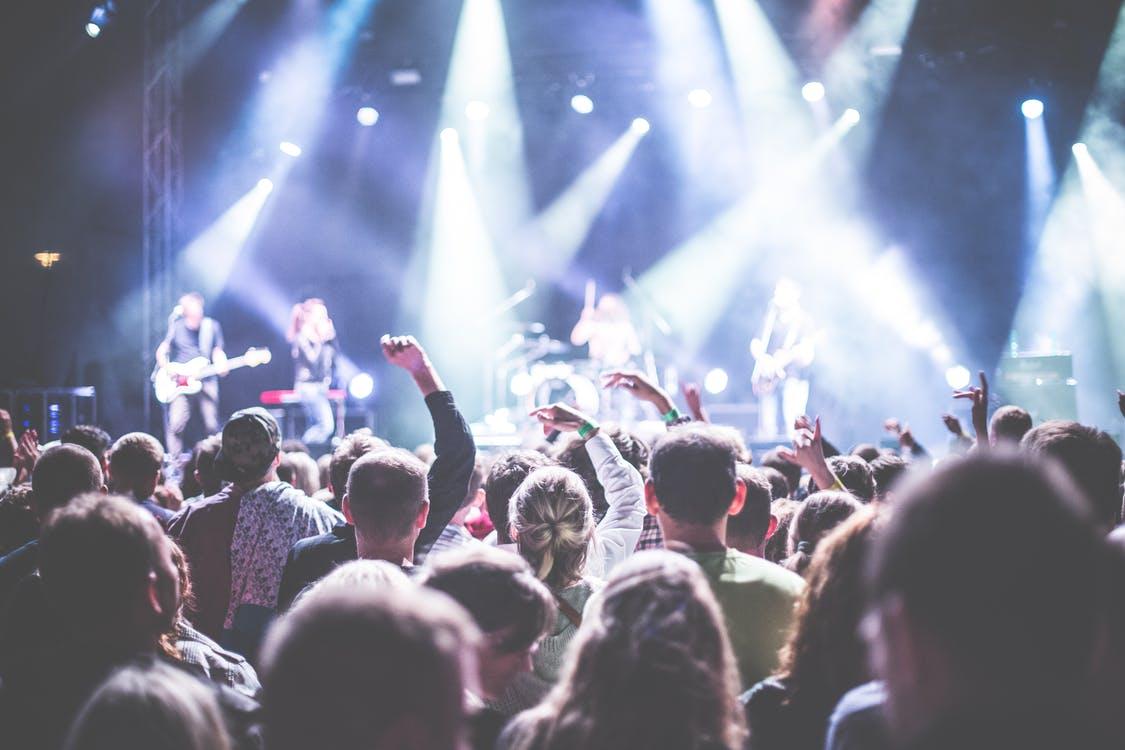Publikum på konsert